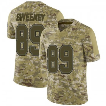Youth Nike Buffalo Bills Tommy Sweeney Camo 2018 Salute to Service Jersey - Limited