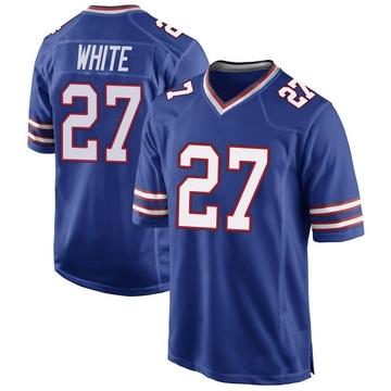Youth Nike Buffalo Bills Tre'Davious White Royal Blue Team Color Jersey - Game