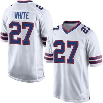 Youth Nike Buffalo Bills Tre'Davious White White Jersey - Game