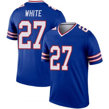 Youth Nike Buffalo Bills Tre'Davious White White Royal Jersey - Legend