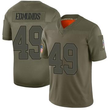 Youth Nike Buffalo Bills Tremaine Edmunds Camo 2019 Salute to Service Jersey - Limited