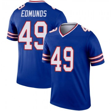 Youth Nike Buffalo Bills Tremaine Edmunds Royal Inverted Jersey - Legend