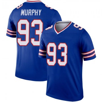 Youth Nike Buffalo Bills Trent Murphy Royal Inverted Jersey - Legend