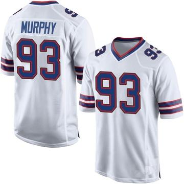 Youth Nike Buffalo Bills Trent Murphy White Jersey - Game