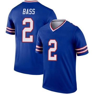 Youth Nike Buffalo Bills Tyler Bass Royal Jersey - Legend