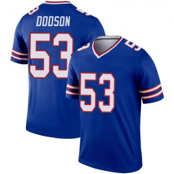 Youth Nike Buffalo Bills Tyrel Dodson Royal Inverted Jersey - Legend
