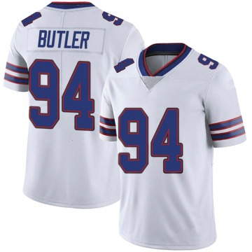 Youth Nike Buffalo Bills Vernon Butler White Color Rush Vapor Untouchable Jersey - Limited