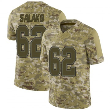 Youth Nike Buffalo Bills Victor Salako Camo 2018 Salute to Service Jersey - Limited