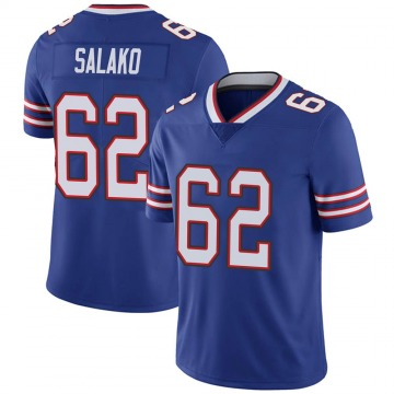 Youth Nike Buffalo Bills Victor Salako Royal Team Color Vapor Untouchable Jersey - Limited