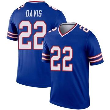 Youth Nike Buffalo Bills Vontae Davis Royal Inverted Jersey - Legend