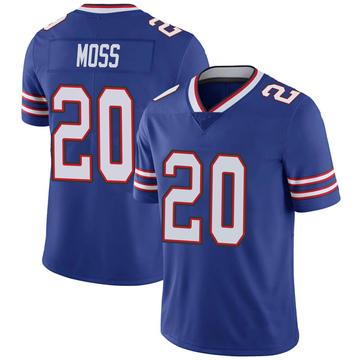 Youth Nike Buffalo Bills Zack Moss Royal 100th Vapor Jersey - Limited