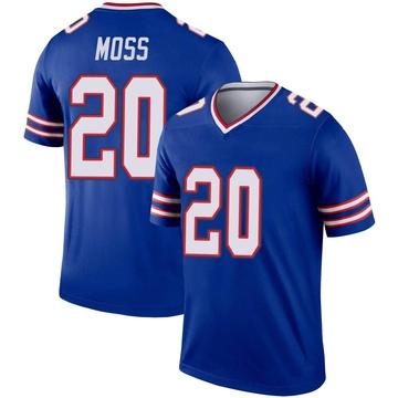 Youth Nike Buffalo Bills Zack Moss Royal Jersey - Legend
